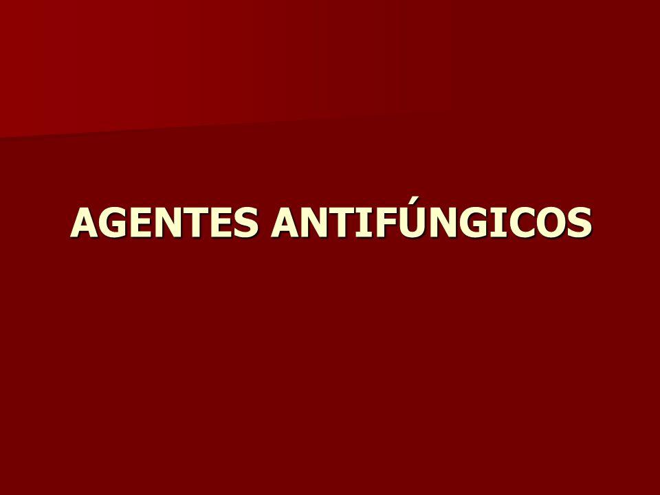 AGENTES ANTIFÚNGICOS