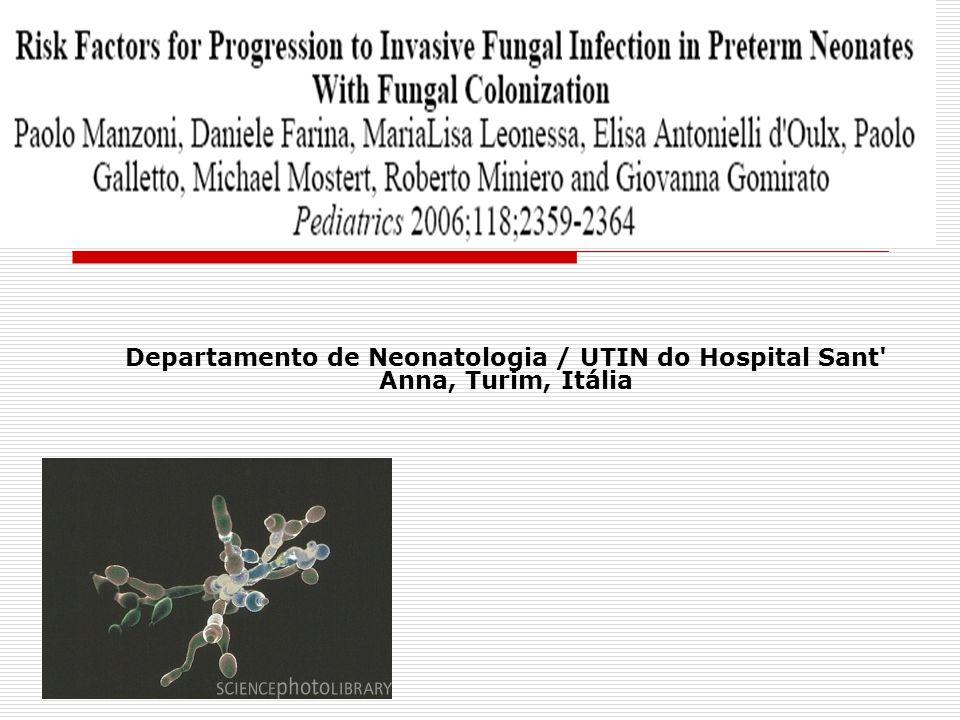 Protocolo empírico para o tratamento de infecção por candida em recém-nascidos de alto risco Autor(es): Procianoy RS, Enéas MV, Silveira RC.