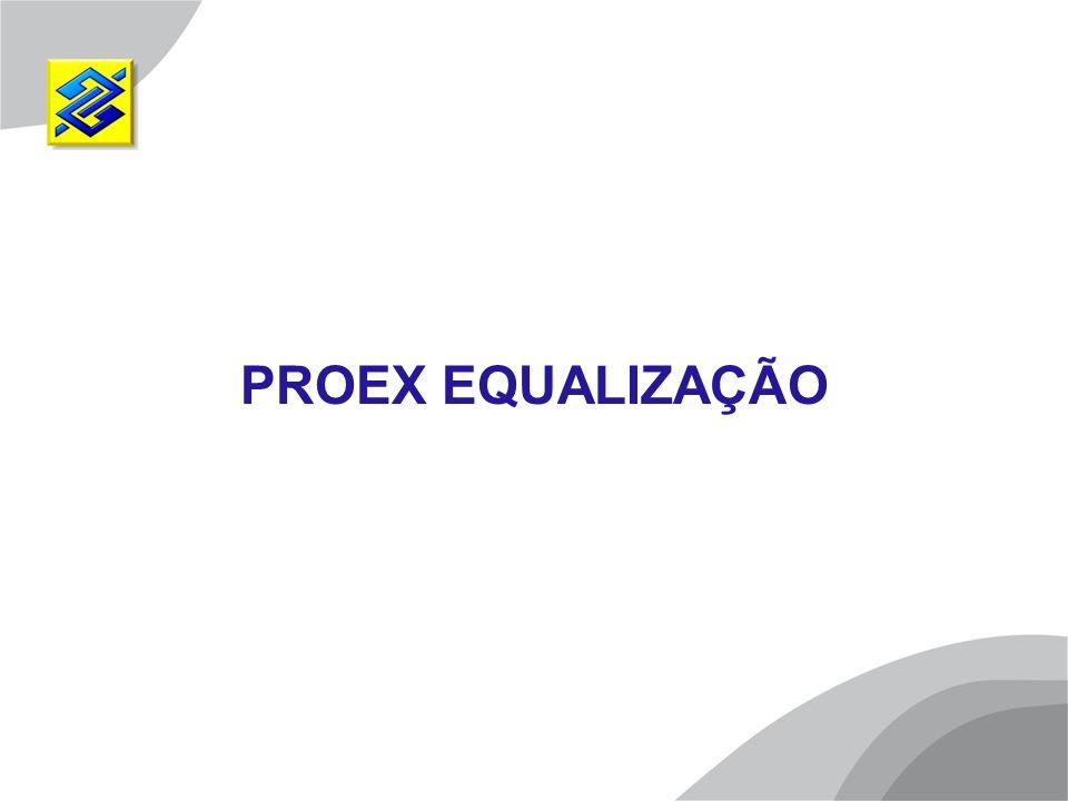PROEX EQUALIZAÇÃO