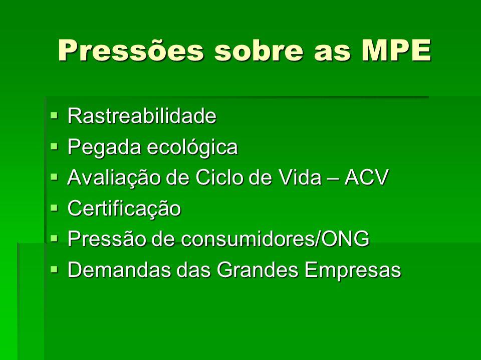 Ações Imediatas Padronização, simplificação, municipalização, setorialização e redução de custos de licenciamento ambiental para MPE.