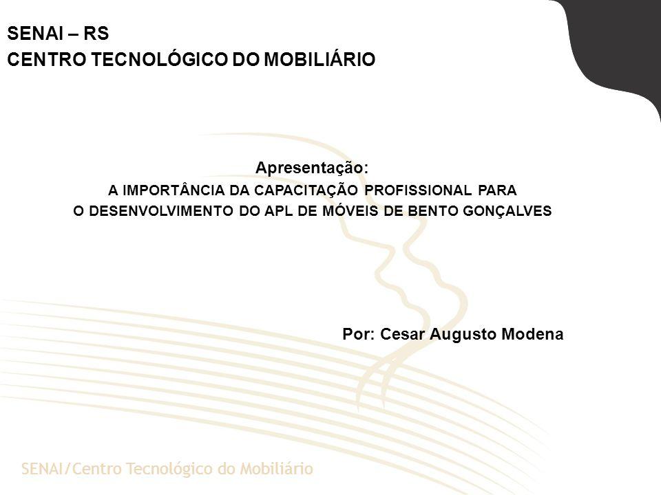 A Escola de Negócios da PUCRSSENAI/Centro Tecnológico do Mobiliário SENAI – RS CENTRO TECNOLÓGICO DO MOBILIÁRIO Apresentação: A IMPORTÂNCIA DA CAPACIT