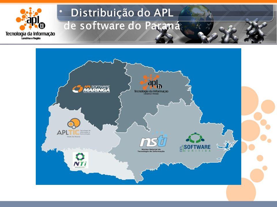 Abrangência APL TI Londrina e Região