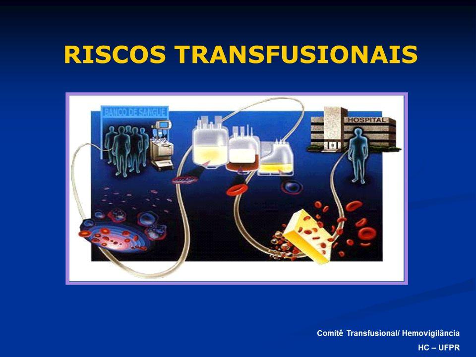 RISCOS TRANSFUSIONAIS