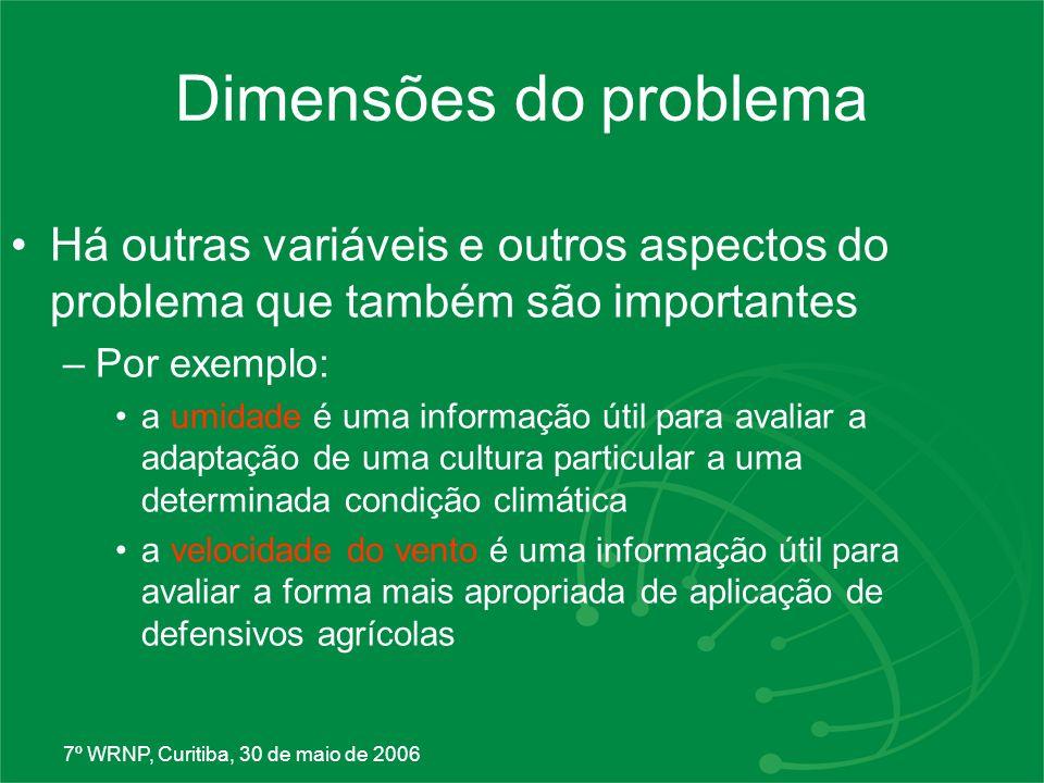 7º WRNP, Curitiba, 30 de maio de 2006 Como são feitas as previsões.