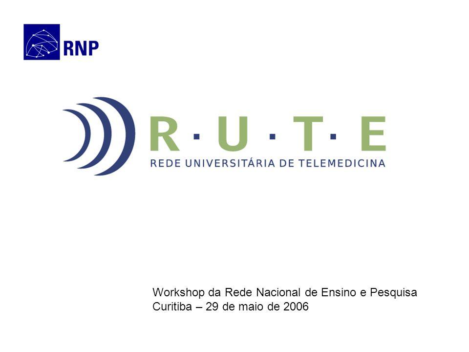 Workshop da Rede Nacional de Ensino e Pesquisa Curitiba – 29 de maio de 2006