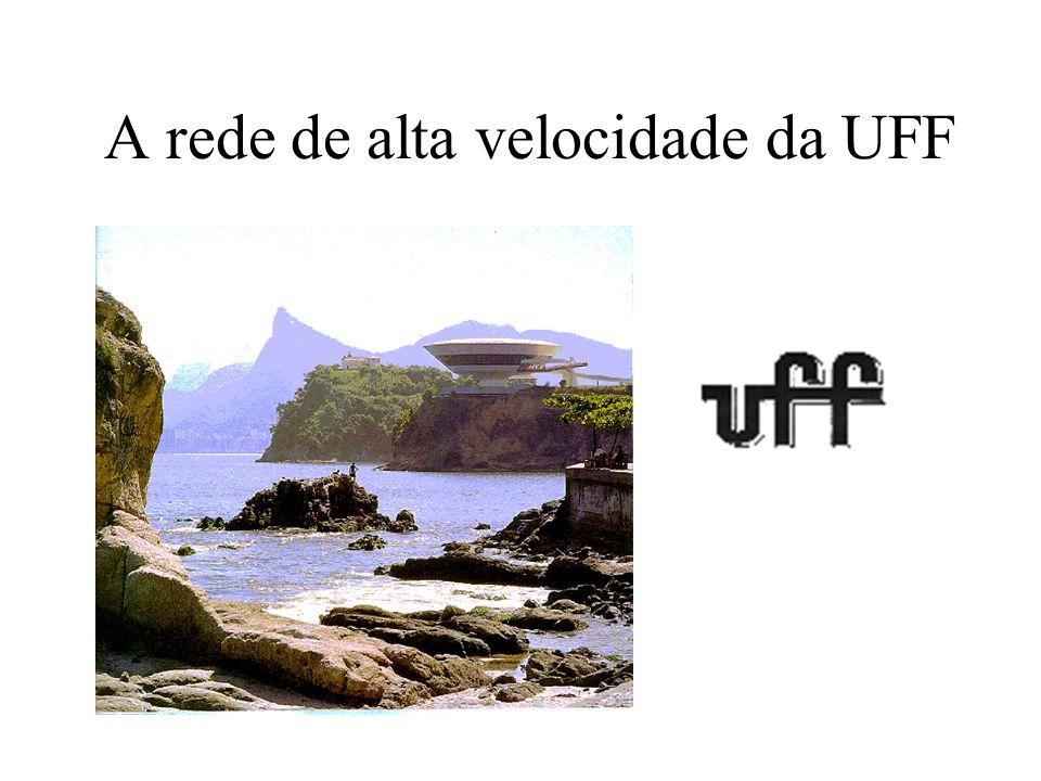 A rede de alta velocidade da UFF