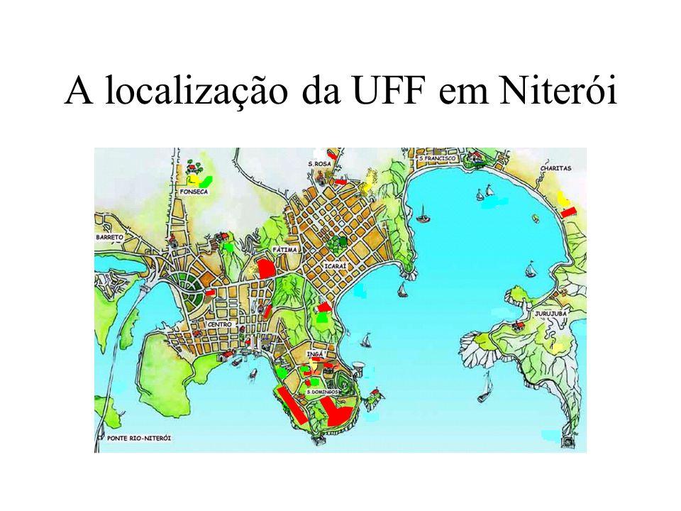 UFF e a Rede Rio UFF faz parte da Rede Rio desde sua criação em 1990 (fase Bitnet) primeira instituição fora da capital na fase Internet (após 1992) aumentou enlace para 64 kbps em 1997 instalou enlace próprio de rádio para CBPF (2 Mbps) => virou PoP da RR