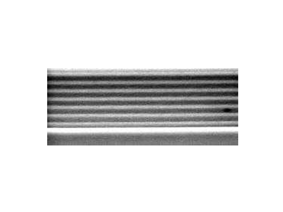 Reflexão de Raios-x Espessura Miceli (1986) Distância entre os batimentos da interferência construtiva e destrutiva Precisão de 0,01 nm para um sistema de multicamadas