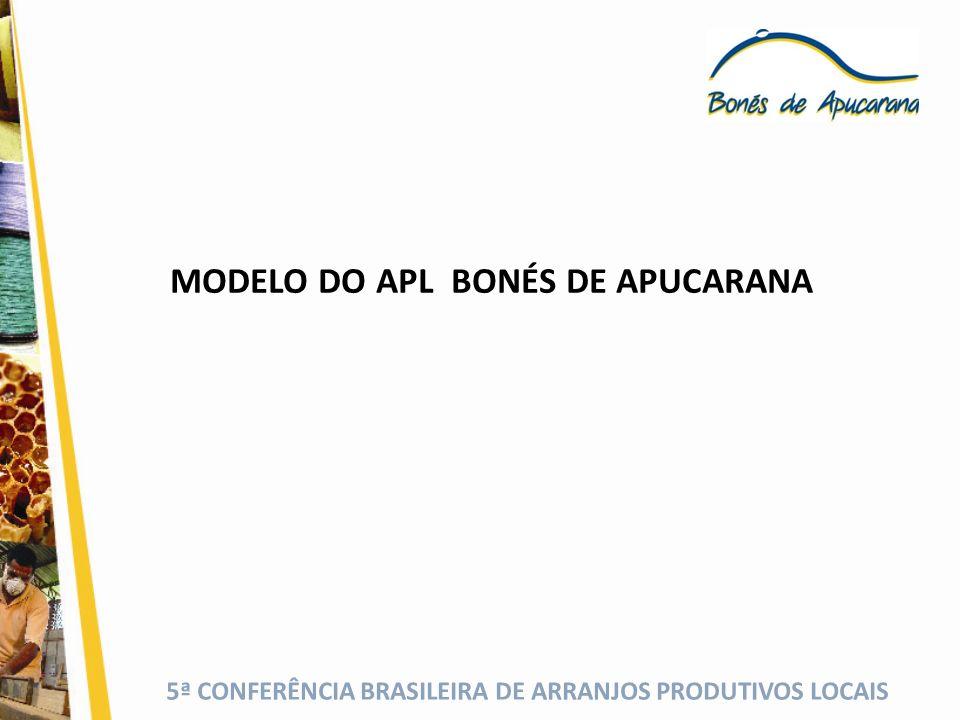 5ª CONFERÊNCIA BRASILEIRA DE ARRANJOS PRODUTIVOS LOCAIS MODELO DO APL BONÉS DE APUCARANA