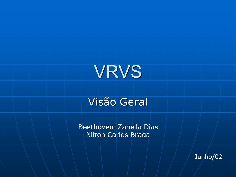 VRVS Visão Geral Beethovem Zanella Dias Nilton Carlos Braga Junho/02