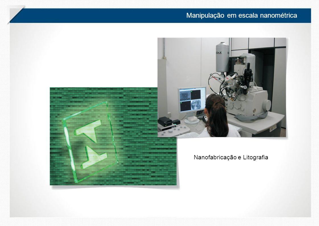 Manipulação em escala nanométrica Nanofabricação e Litografia