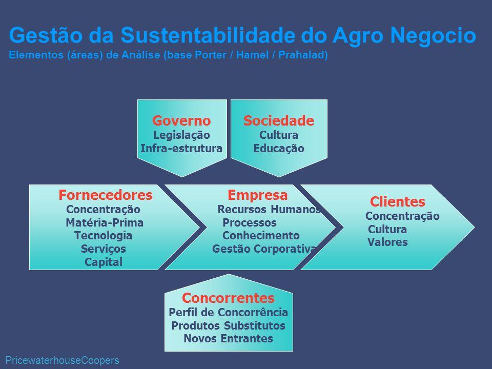 Fornecedores Concentração Matéria-Prima Tecnologia Serviços Capital Empresa Recursos Humanos Processos Conhecimento Gestão Corporativa Clientes Concen