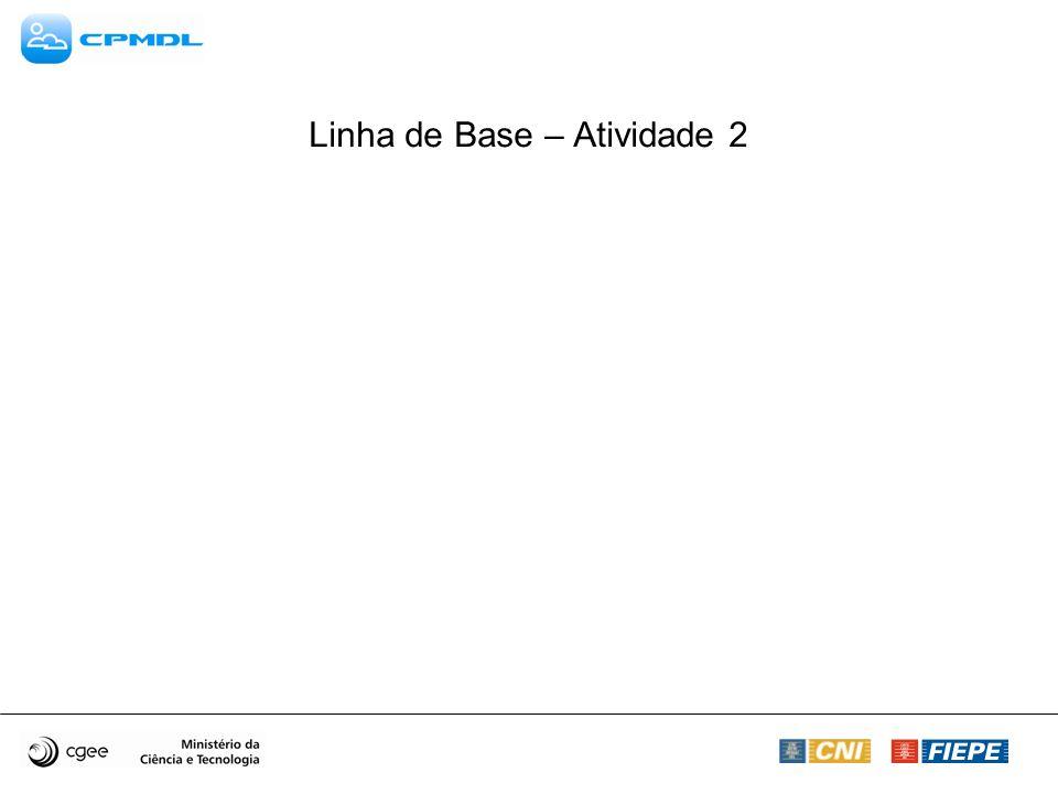 Linha de Base – Atividade 2
