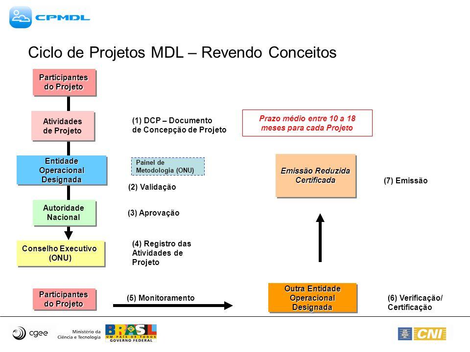 Metodologias Aprovadas – Grande Escala Cogeração de Energia com Resíduos de Biomassa –ACM0006 – Consolidated methodology for grid-connected electricity generation from biomass - Version 4 (http://cdm.unfccc.int/UserManagement/FileStorage/CDMWF_AM_I5X2LJAJB4HSYWLIIUX OKSUPQVSBGS):http://cdm.unfccc.int/UserManagement/FileStorage/CDMWF_AM_I5X2LJAJB4HSYWLIIUX OKSUPQVSBGS Consolidação das metodologias NM0050, NM0081, NM0098; Substituição das metodologias AM0004 e AM0015; Metodologia aplicável para novas unidades com biomassa, incremento de produção de energia com biomassa e substituição de combustível fóssil por biomassa em unidades existentes; Biomassa: Material orgânico não fossilizado e biodegradável originário de plantas, animais e microorganismos, incluindo gases e líquidos da decomposição de material orgânico; Fórmula básica de cálculo contempla: –Consideração de 15 possíveis cenários de utilização de resíduos de biomassa, como cenários de expansão de capacidade de geração, novas unidades de cogeração, eficiência energética e substituição de combustível; –Os cálculos consideram as emissões nos diferentes cenários.