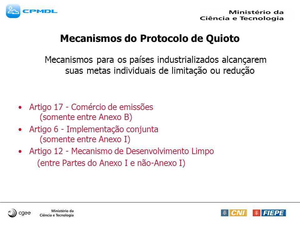 Descrição sucinta das Metodologias Aprovadas pelo Conselho Executivo Metodologias para projetos MDL de Grande Escala aprovadas 33 Metodologias Aprovadas 10 Metodologias Consolidadas Metodologias para projetos MDL de Pequena Escala Disponíveis na forma de um Cardápio no seguinte documento: Apêndice B1 das modalidades a procedimentos simplificados para atividades de projeto MDL de pequena escala Tipo I – Projetos de Energia renovável (n.