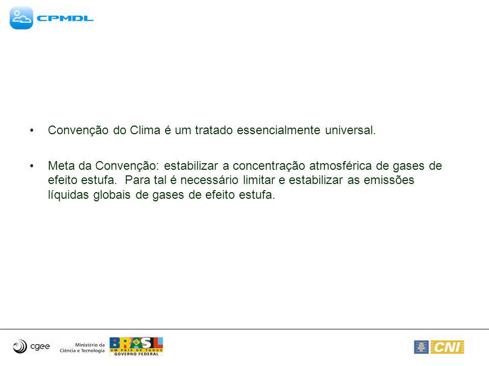 Convenção do Clima é um tratado essencialmente universal.