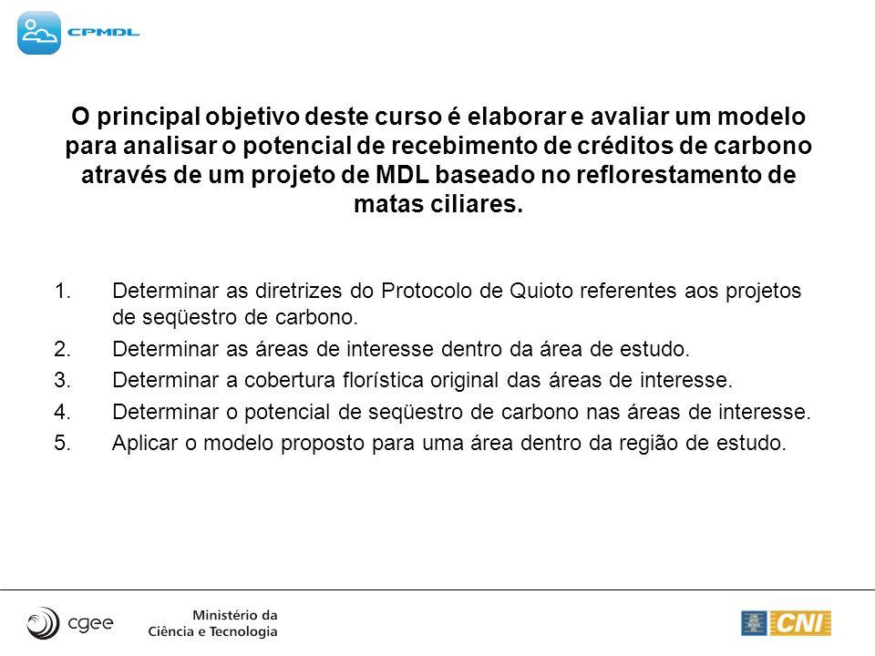 (3) COBERTURA FLORÍSTICA ORIGINAL DAS ÁREAS DE INTERESSE