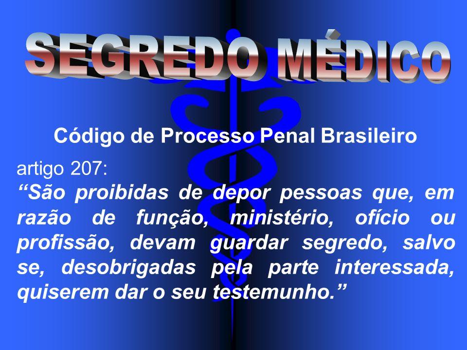 Código de Processo Penal Brasileiro artigo 207: São proibidas de depor pessoas que, em razão de função, ministério, ofício ou profissão, devam guardar