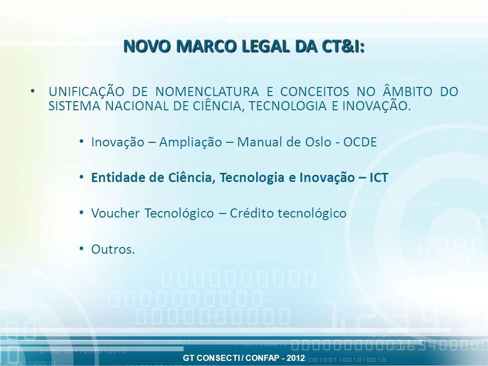 GT CONSECTI / CONFAP - 2012 AS LICITAÇÕES E OS CONTRATOS: Aquisições e contratações – Princípio da prevalência da qualidade sobre a economicidade.