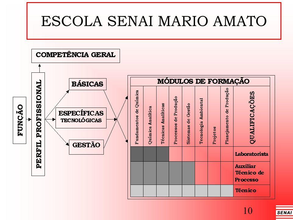 ESCOLA SENAI MARIO AMATO 10