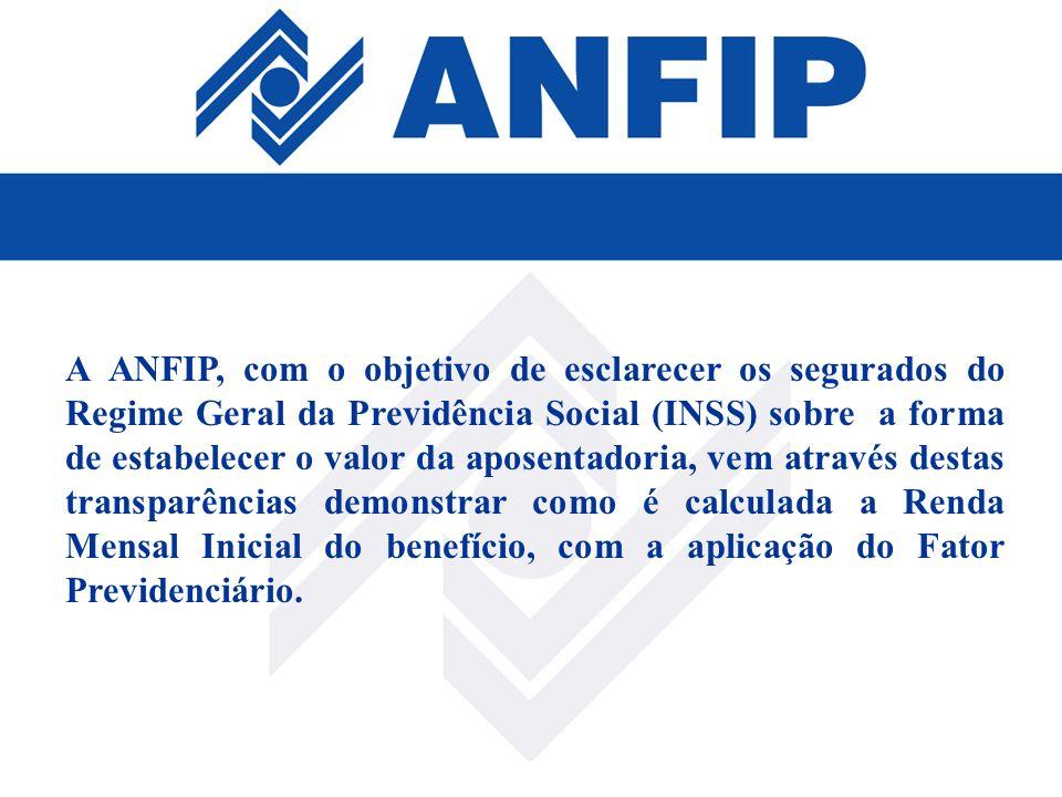 A ANFIP, com o objetivo de esclarecer os segurados do Regime Geral da Previdência Social (INSS) sobre a forma de estabelecer o valor da aposentadoria,