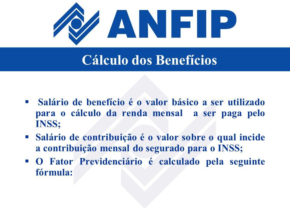 Salário de benefício é o valor básico a ser utilizado para o cálculo da renda mensal a ser paga pelo INSS; Salário de contribuição é o valor sobre o q