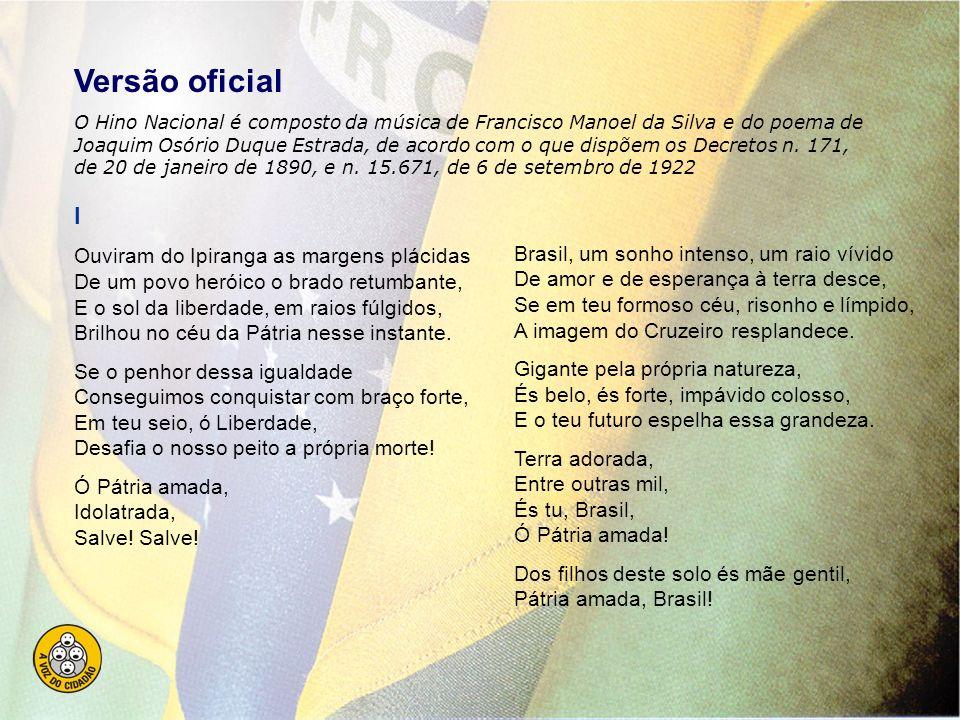 No país do futebol, para conhecer e entender: HINO NACIONAL BRASILEIRO e o Artigo 5º da Constituição Federal