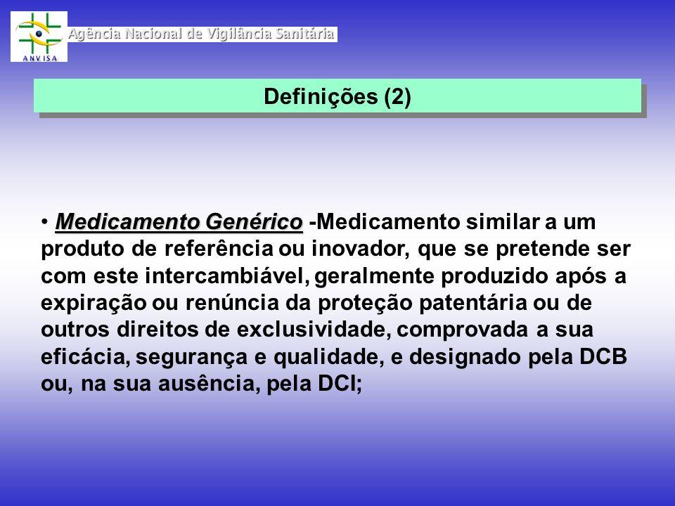 Medicamento Genérico Medicamento Genérico -Medicamento similar a um produto de referência ou inovador, que se pretende ser com este intercambiável, ge