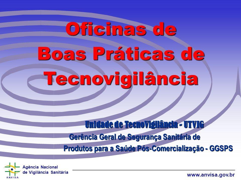 Agência Nacional de Vigilância Sanitária www.anvisa.gov.br TECNOVIGILÂNCIA nacional e internacional e internacional Literatura e WWW=> EVENTOS ADVERSO