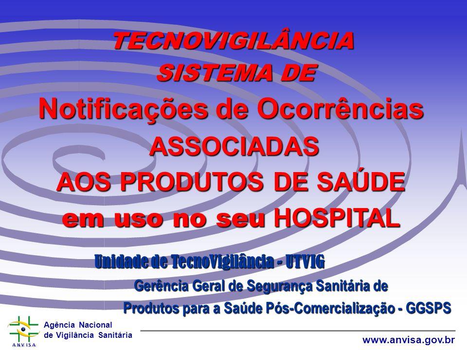 Agência Nacional de Vigilância Sanitária www.anvisa.gov.br Exemplos de indicadores A maioria dos indicadores quantitativos são índices ou taxas calcul