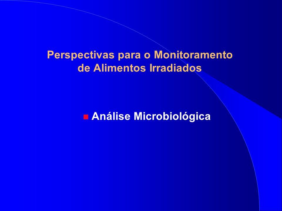 Perspectivas para o Monitoramento de Alimentos Irradiados n Análise Microbiológica