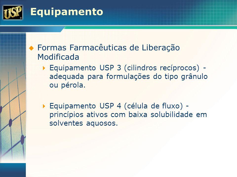 Equipamento Formas Farmacêuticas de Liberação Modificada Equipamento USP 3 (cilindros recíprocos) - adequada para formulações do tipo grânulo ou pérol