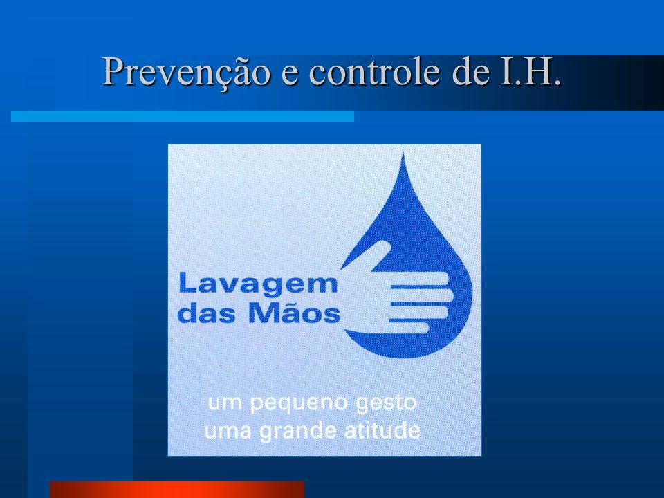 Prevenção e controle de I.H.