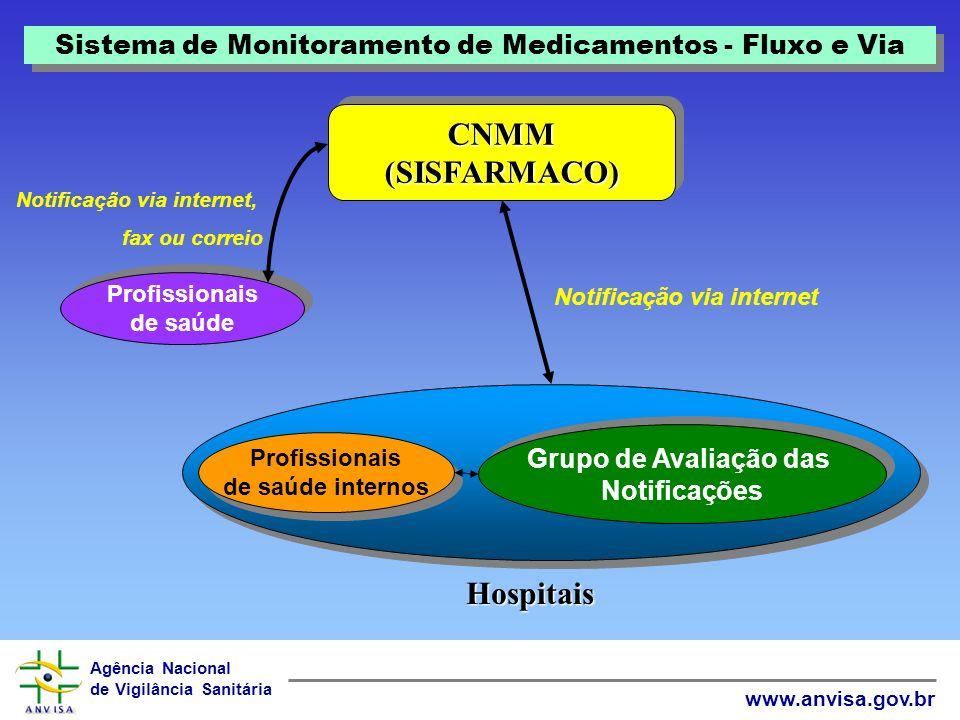 Agência Nacional de Vigilância Sanitária www.anvisa.gov.br Estratégia 4 Inserção do Brasil no Programa Internacional de Monitorização de Medicamentos da OMS Estratégias – Farmacovigilância no Brasil