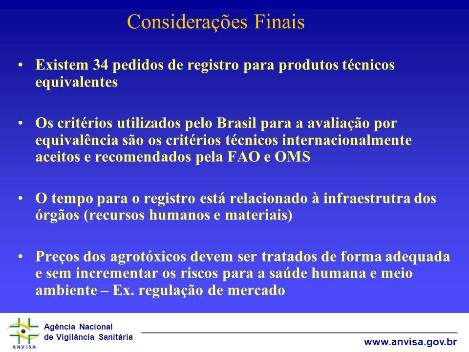 Agência Nacional de Vigilância Sanitária www.anvisa.gov.br TOXICOLOGIA DIOXINAS TCDD Carcinógeno em animais, em múltiplos órgãos (diversas vias de exp