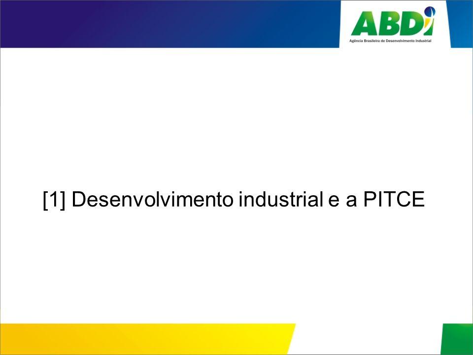 [1] Desenvolvimento industrial e a PITCE