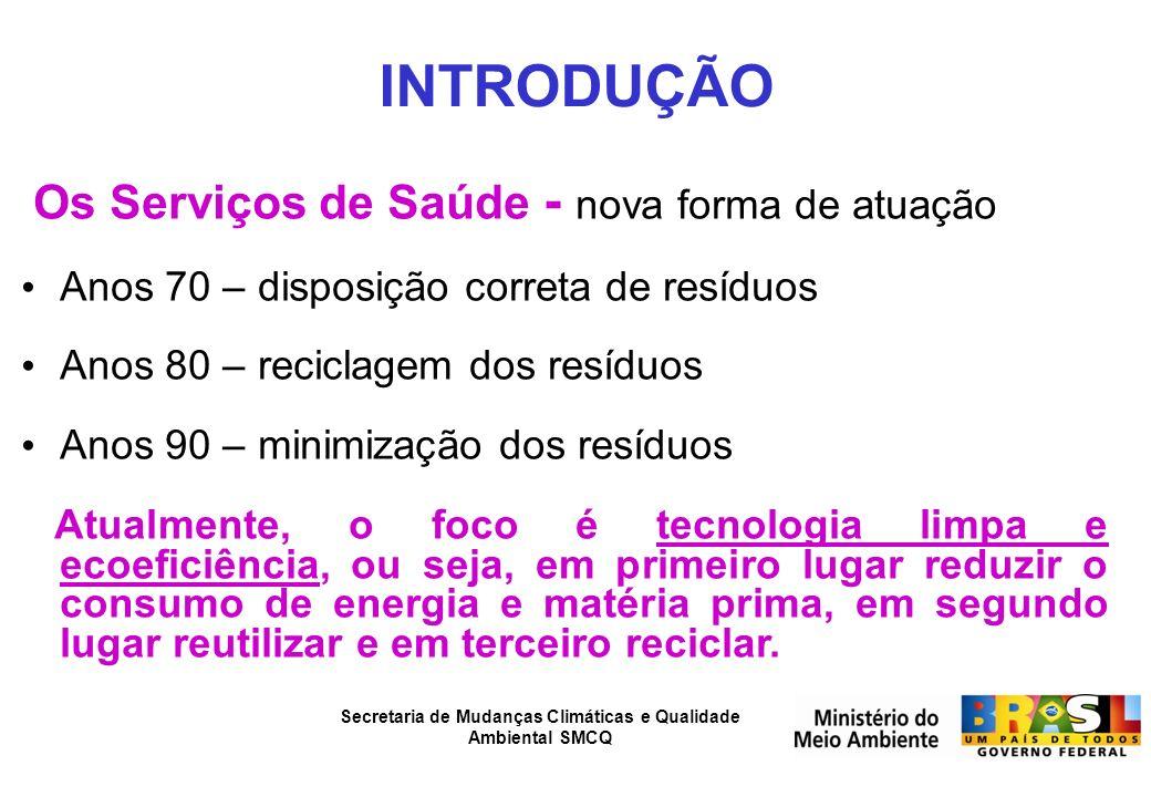 Secretaria de Mudanças Climáticas e Qualidade Ambiental SMCQ Variação da condutividade no lençol freático, na região de um aterro controlado.