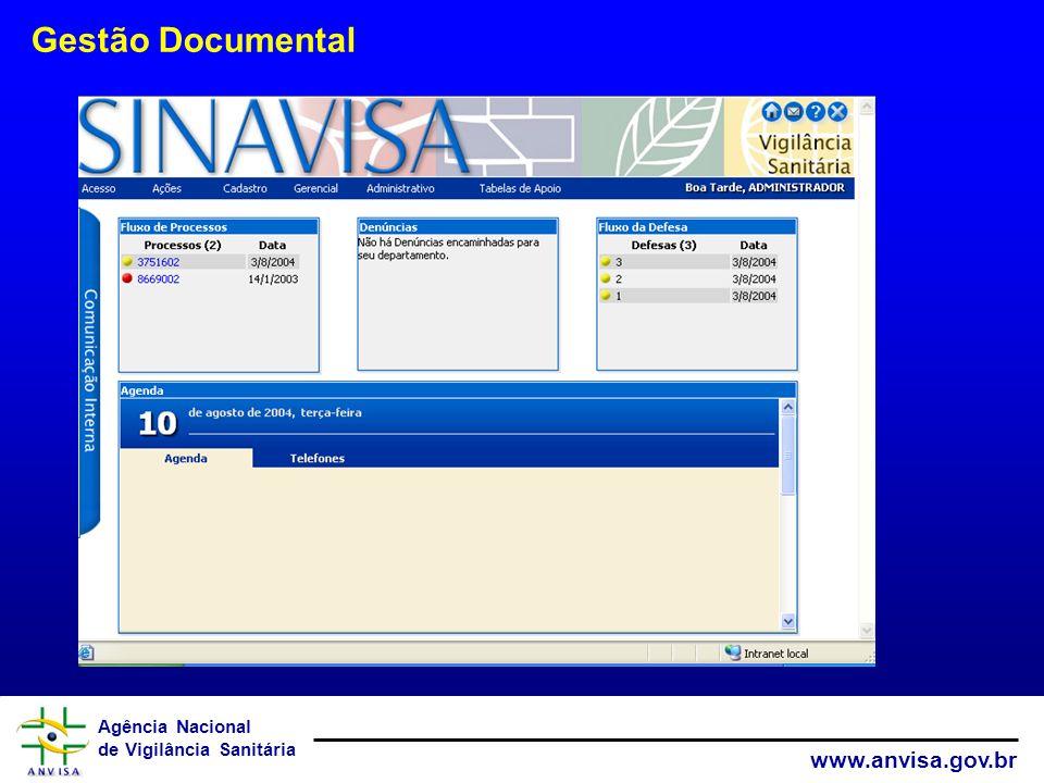 Agência Nacional de Vigilância Sanitária www.anvisa.gov.br Técnico-Científico Prática Base Legal Documentação Modelo Para a Gestão do Conhecimento Com