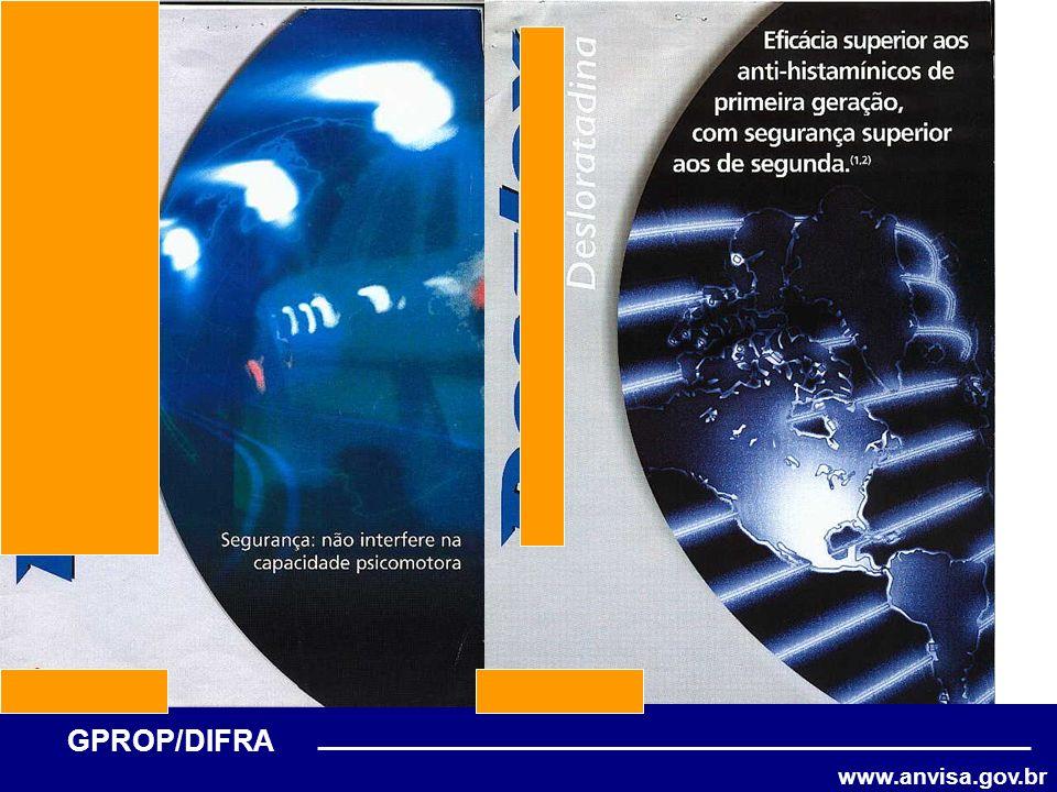 www.anvisa.gov.br GPROP/DIFRA