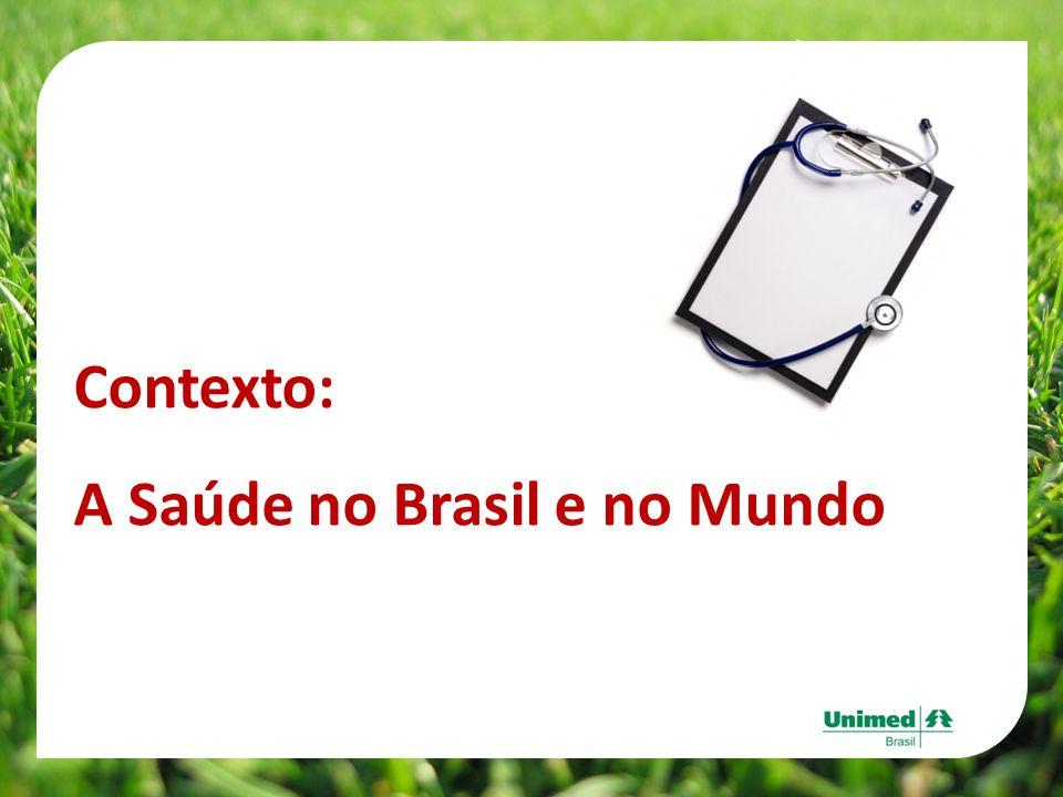 Contexto: A Saúde no Brasil e no Mundo