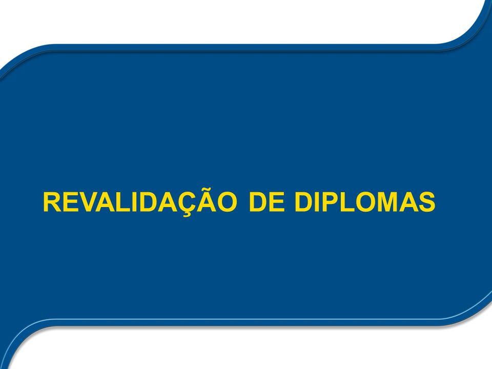 Revalidação de diplomas PORTARIA INTERMINISTERIAL No- 865, DE 15 DE SETEMBRO DE 2009 Art.