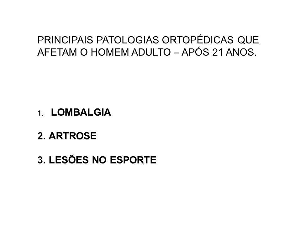Geografia: A artrose existe mundialmente.