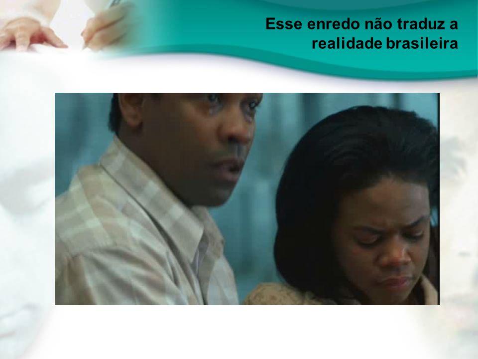 Esse enredo não traduz a realidade brasileira
