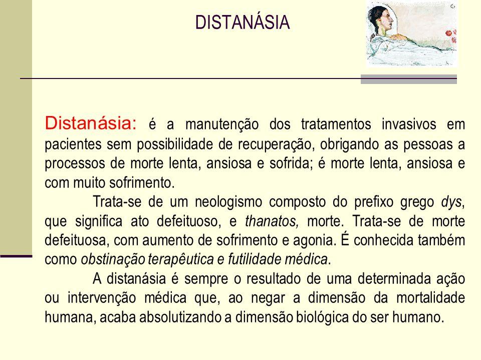 A eutanásia traz à tona dois princípios que se chocam: por um lado, a autonomia do paciente que quer cuidar de seu próprio processo de morte e, por ou