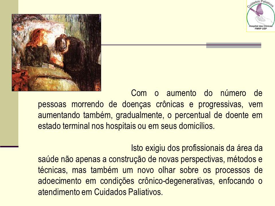 Brasil é antepenúltimo em ranking de qualidade de morte Segundo a pesquisa, no entanto, um aumento na disponibilidade de tratamento paliativo – princi
