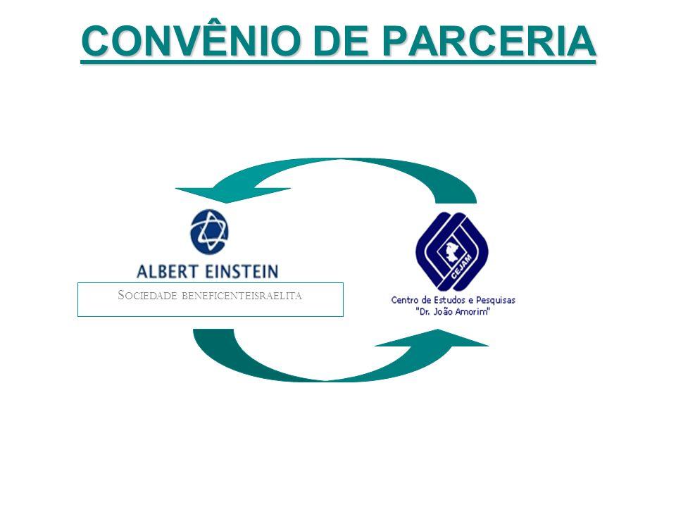 CONVÊNIO DE PARCERIA S OCIEDADE BENEFICENTEISRAELITA