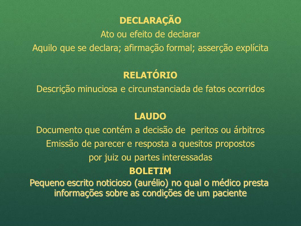 RESOLUÇÃO CFM Nº 1.659 DE 13/12/2002 REFORMULADA PELA CFM 1851/2008 Paragrafo único.