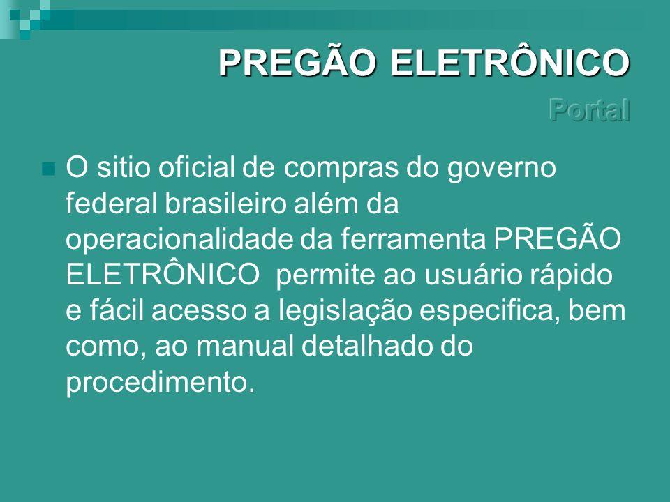 Principais vantagens da modalidade Pregão Eletrônico são: transparência na gestão dos gastos públicos, impessoalidade nas contratações, agilidade nos