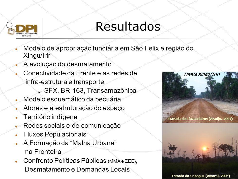 Produtos Relatórios Dinâmica Territorial e Socioambiental de Áreas Consolidadas: O Caso da Região de Marabá.