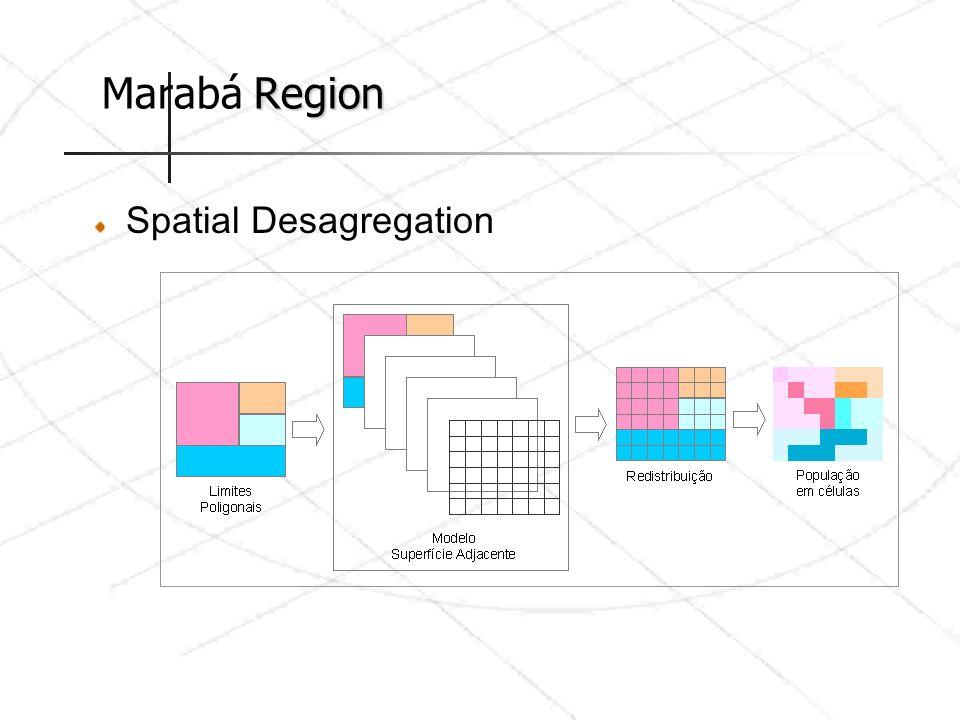 Region Marabá Region Spatial Desagregation